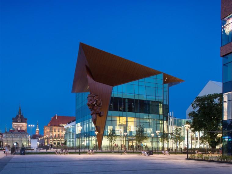 波兰格但斯克集市建筑
