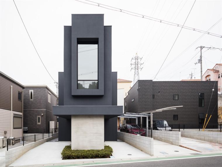 日本纤细房子