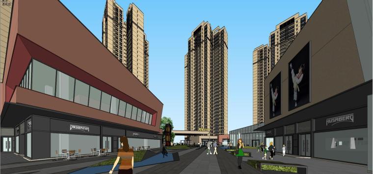 万科里 万科城 商业+高层+入口 (6)