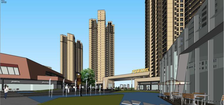 万科里 万科城 商业+高层+入口 (7)