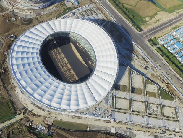 苏州工业园区体育中心体育场结构设计