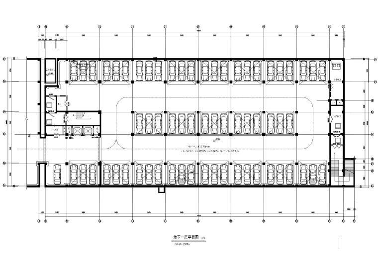 中国移动通信大楼施工图+效果图