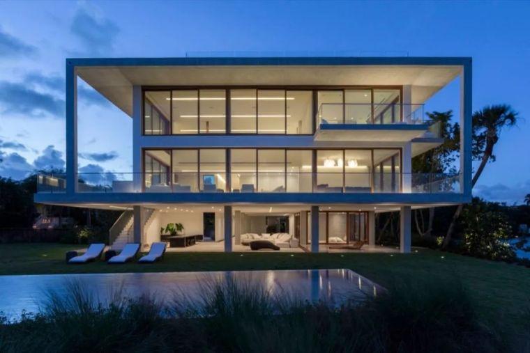 热带度假泳池别墅