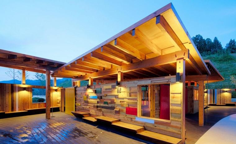 [山东]青岛世园会万科展馆建筑模型设计