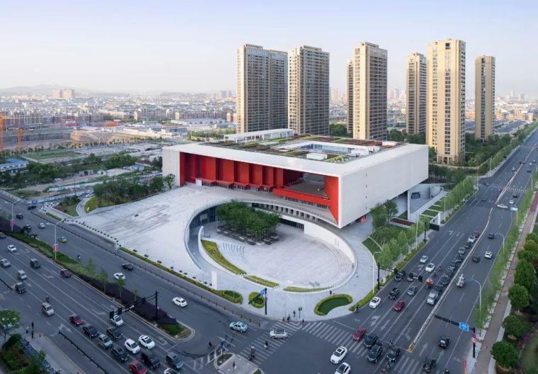 设计案例|浙大设计院:义乌市文化广场