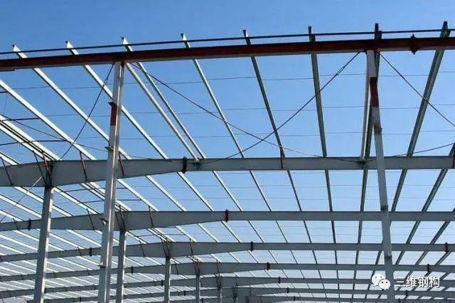 钢结构支撑系统设置原则及其构造
