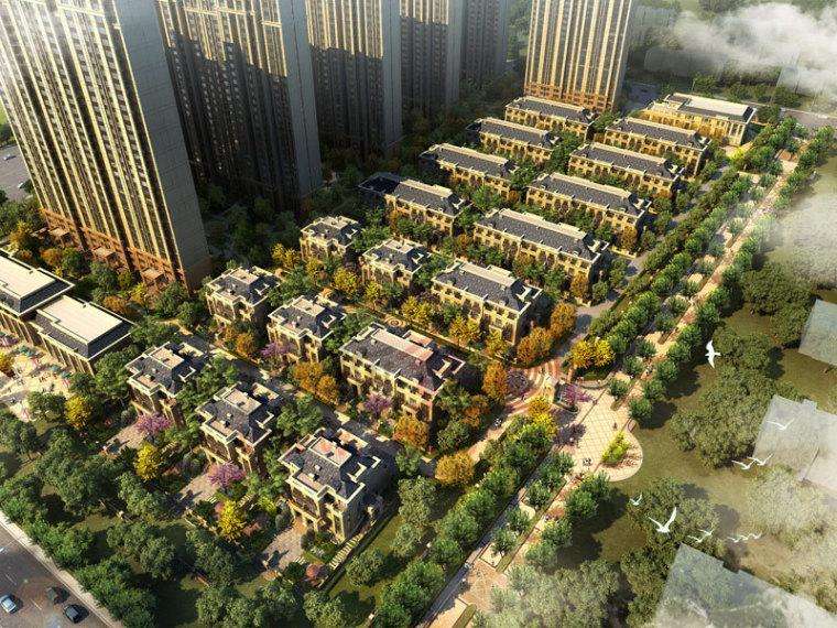 [内蒙古]欧陆风格外滩会所建筑模型设计
