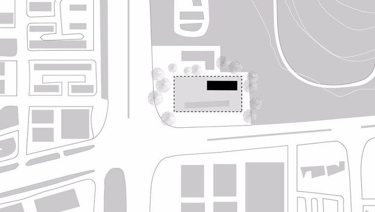 多层办公楼建筑设计:深圳莲花山公交总站