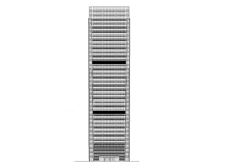 [广东]现代风格电商厦建筑施工图设计