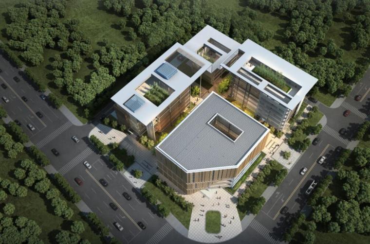 [四川]现代风格政务服务建筑方案设计