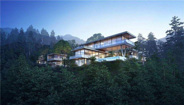 [建筑杂谈]|简谈山地别墅设计