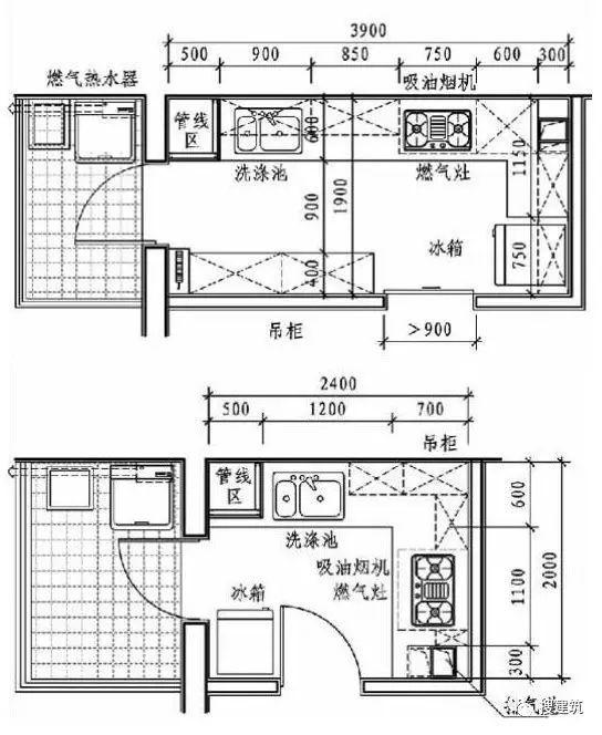 3分钟搞懂厨房的精细化设计!_21