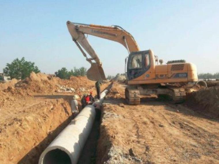 污水管网工程施工设计方案