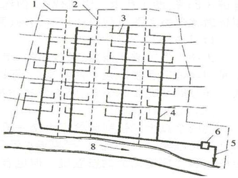 污水管网的设计说明及设计计算