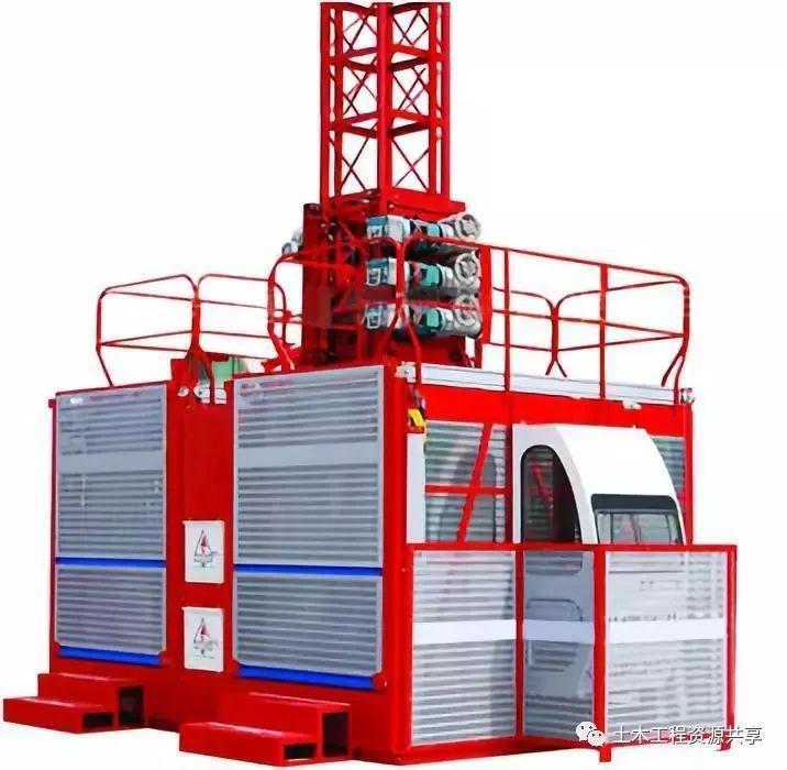 施工升降机基础知识及安全装置图文解析!