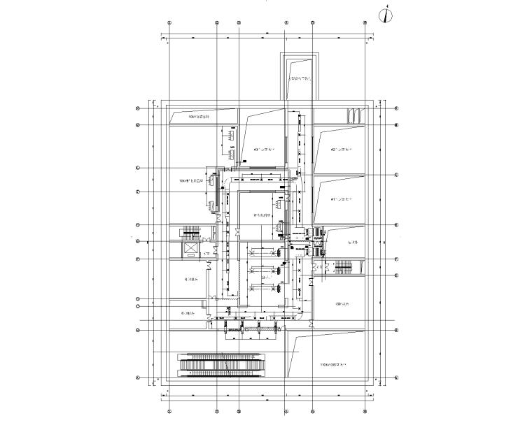 地源热泵+冰蓄冷系统+吸附式空调系统设计图