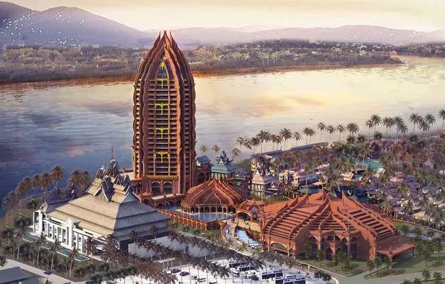 西双版纳景兰国际会议度假酒店设计