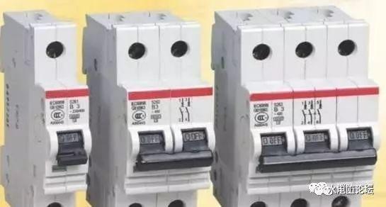 配电箱中和空气开关和断路器相关的常识(家用)