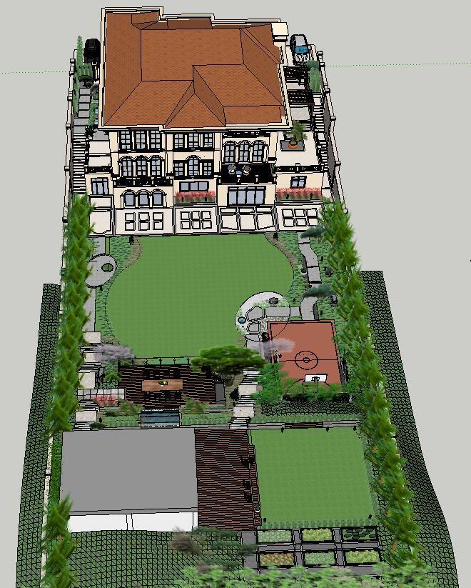 别墅方案设计模型