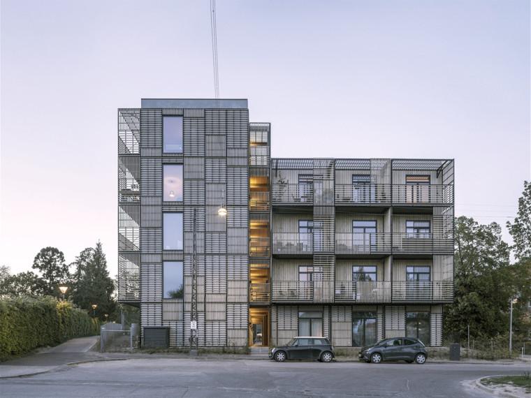 丹麦BavnehøjAllé青年公寓