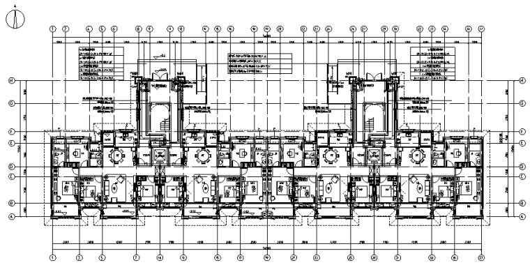 安徽商业住宅电气施工图(含弱电系统)