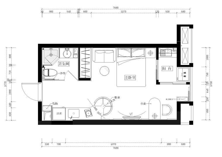 品川-凯隆地产样板房2#07-08施工图+效果图