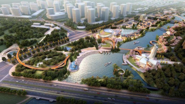梦回伯渎,七里画廊|伯渎河生态环境治理