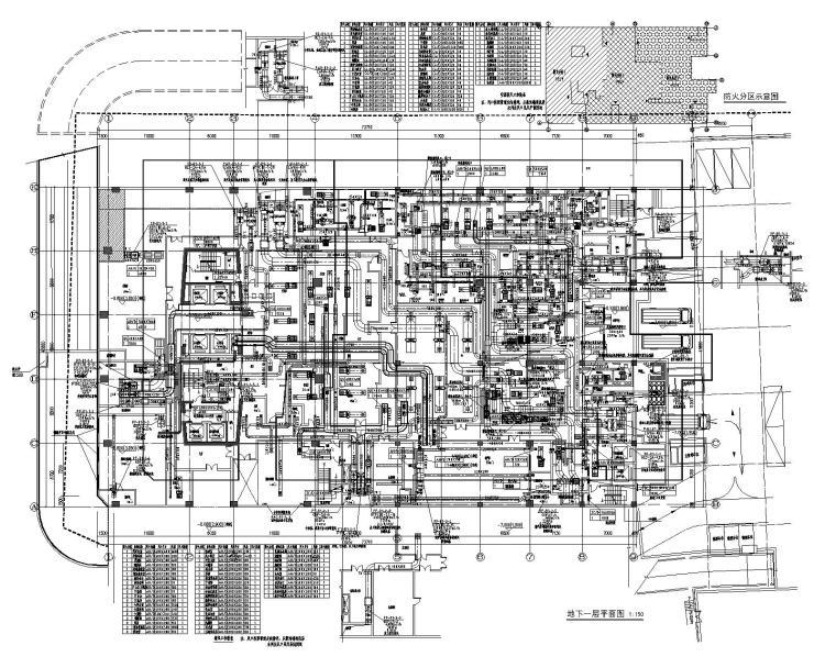 万达广场五星级酒店暖通设计施工图