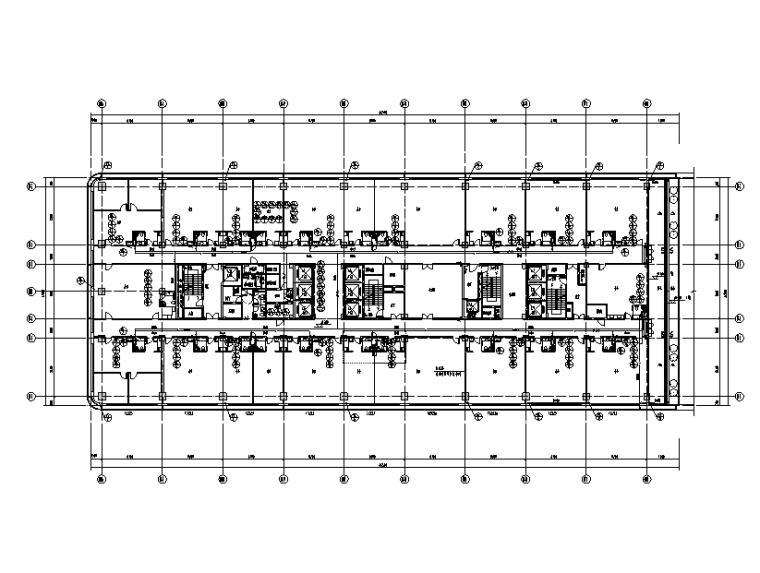 山东硅谷大厦双栋办公楼给排水施工图