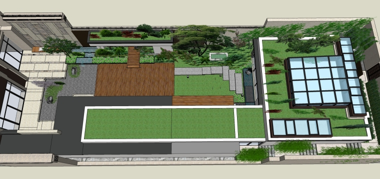 别墅庭院景观方案设计