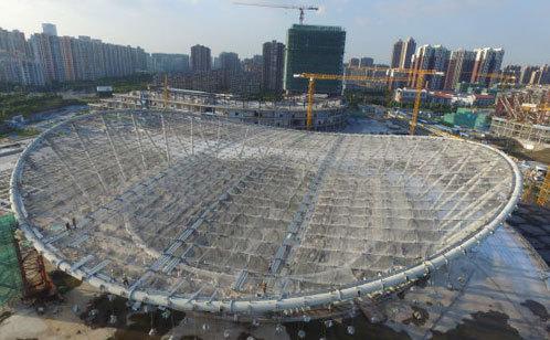 苏州工业园区体育中心游泳馆结构设计