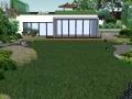 别墅庭院景观方案设计SU模型