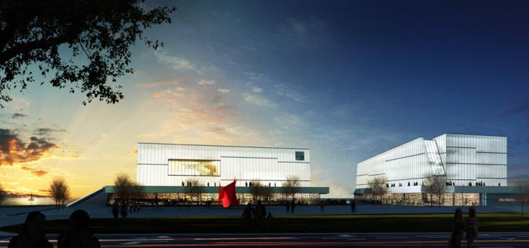 海尔全球创新模式研究中心设计方案二