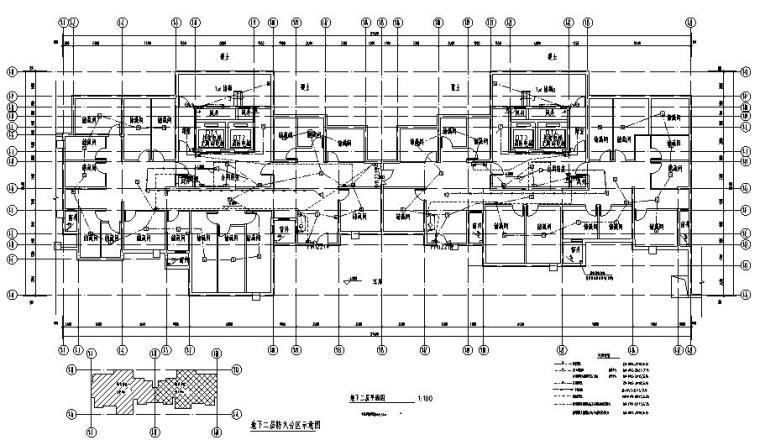 安徽商品住宅及配套商业电气施工图