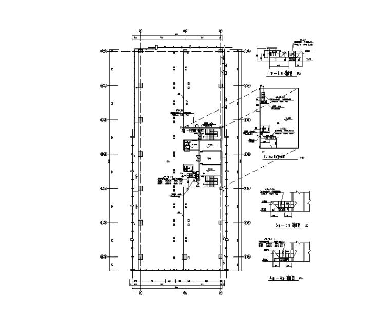 合肥万达商业综合体暖通设计施工图