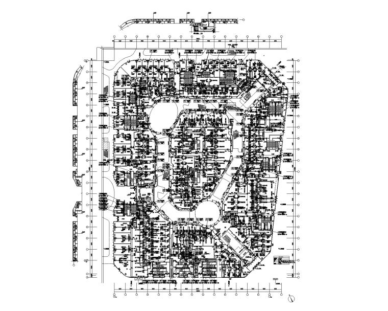 吾悦广场综合体暖通设计施工图