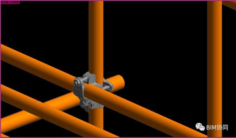 REVIT基于公制幕墙嵌板的脚手架外架建模_6