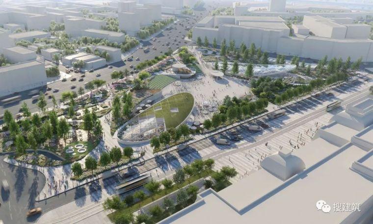 一个多功能广场设计