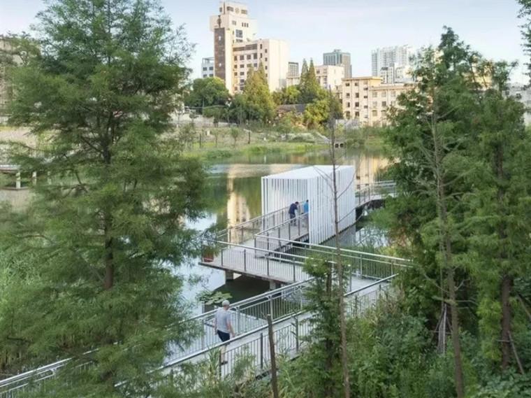 池州市海绵城市示范项目护城河遗址公园