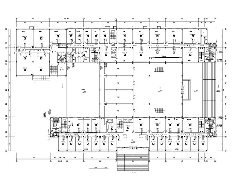 审判综合办公楼地源热泵空调系统设计图
