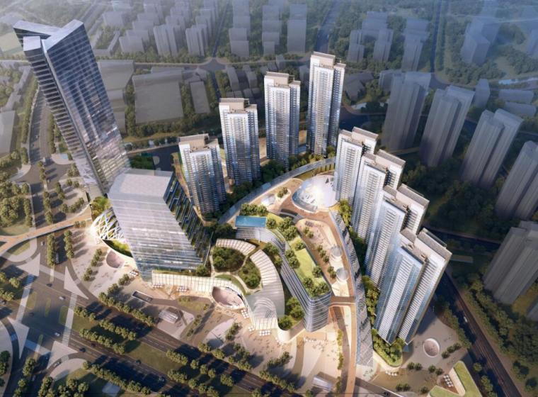 佛山市顺德区陈村TOD综合体项目概念规划