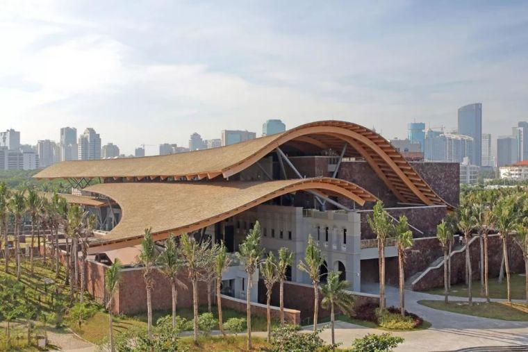 木、瓦、石、砖、竹、泥、窑与现代建筑