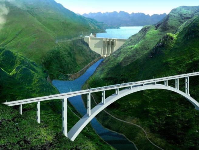 沪昆客专北盘江特大桥设计BIM应用