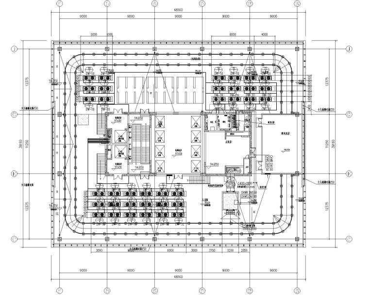 苏州金融街商业办公综合体暖通设计施工图