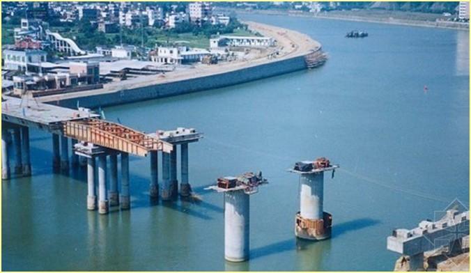 桥梁施工方法——顶推法