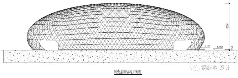 宁波第一个椭球形铝合金网壳设计_4