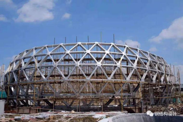 宁波第一个椭球形铝合金网壳设计_33