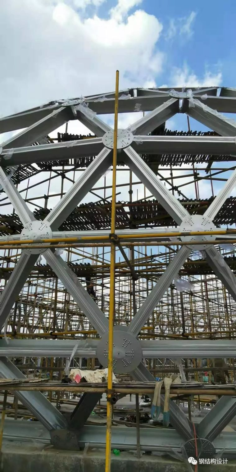 宁波第一个椭球形铝合金网壳设计_34