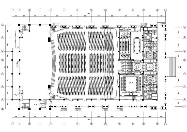 [江阴]三毛集团国际会议展览中心CAD施工图