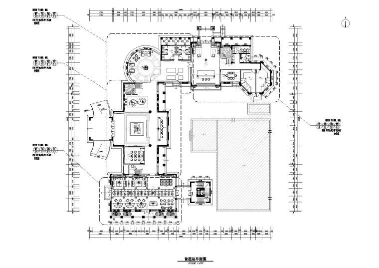 [江苏]集美组-南通华强城售楼处全套施工图